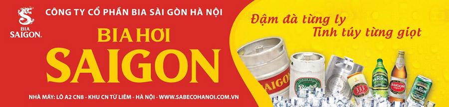Biển bia hơi Sài Gòn